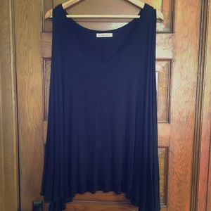 Double Zero Black Blouse